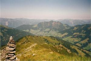 On the ridge of the grosser Galtenberg