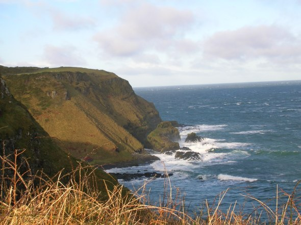 Part of the Causeway Coast Walk in Winter